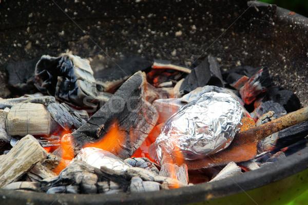 barbecue potato 01 Stock photo © LianeM