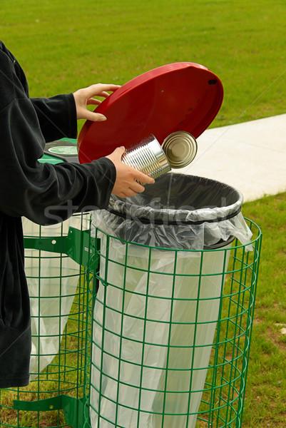 dustbin 07 Stock photo © LianeM