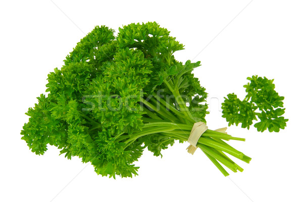 Maydanoz 15 yeşil bitki yeme taze Stok fotoğraf © LianeM