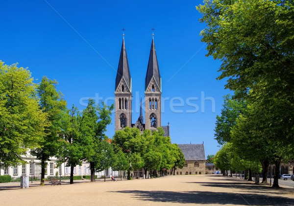 Halberstadt cathedral  Stock photo © LianeM