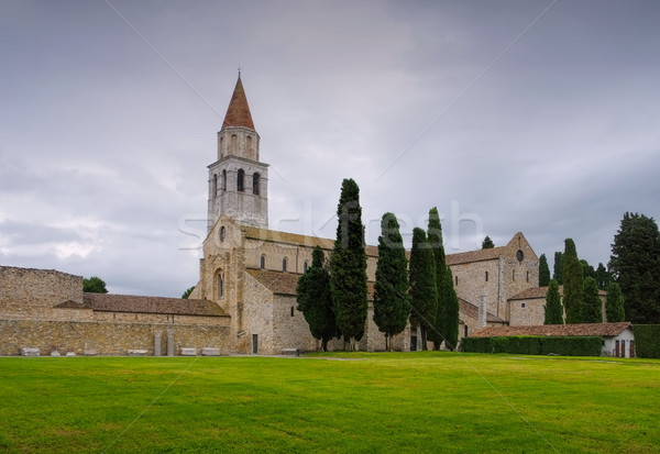 Aquileia old Basilica Stock photo © LianeM