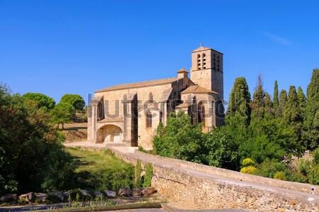 church Saint Hyppolyte in Fontes Stock photo © LianeM