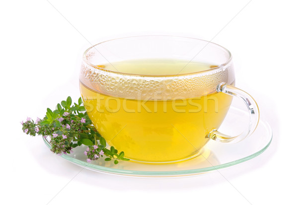 tea thymus 01 Stock photo © LianeM