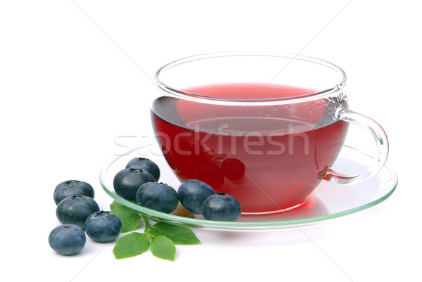 blueberry tea 12 Stock photo © LianeM