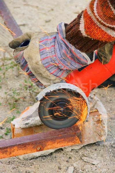 Winkelschleifer - angle grinder 01 Stock photo © LianeM