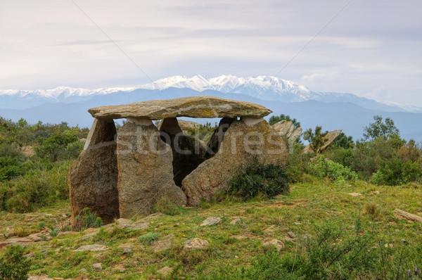 Paisaje montana religión Celtic misterio España Foto stock © LianeM