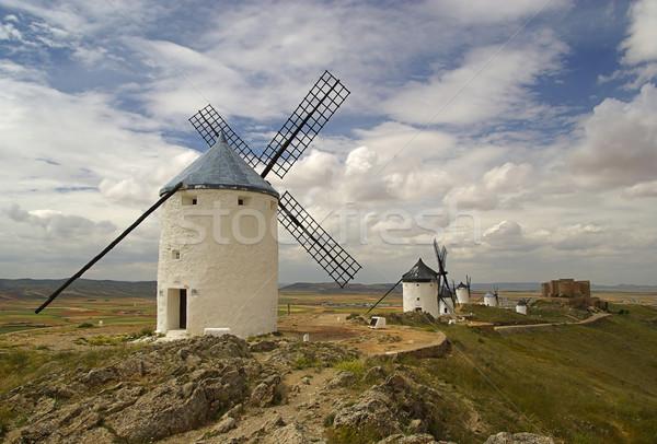 Consuegra Windmill 01 Stock photo © LianeM