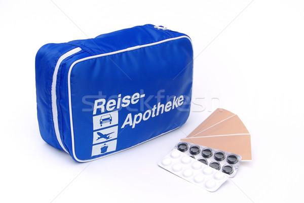 first aid travel kit 03 Stock photo © LianeM