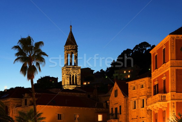 Hvar night  Stock photo © LianeM