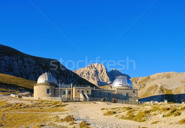 Gran Sasso Campo Imperatore observatory Stock photo © LianeM