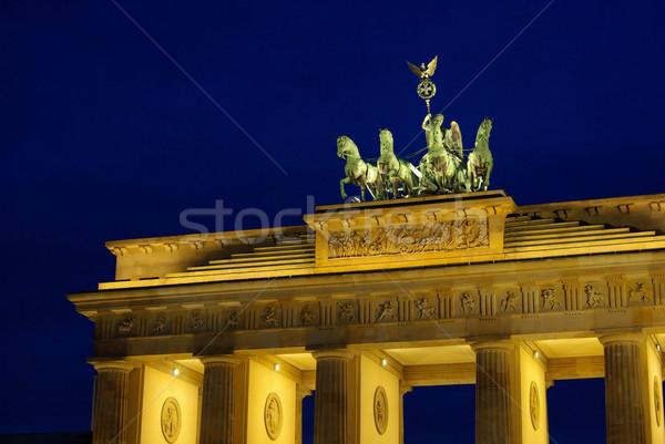 Berlin Brandenburg Gate night 05 Stock photo © LianeM