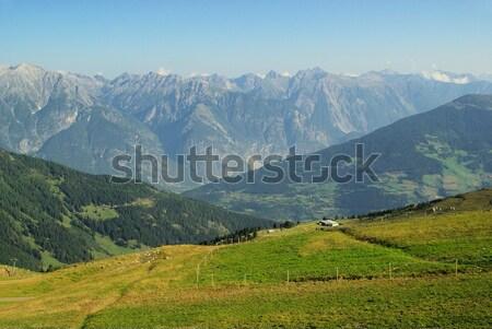 Wandelen 14 water gras natuur berg Stockfoto © LianeM