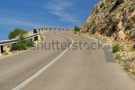Stara Baska coast road 50 Stock photo © LianeM