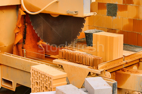 stone saw 01 Stock photo © LianeM