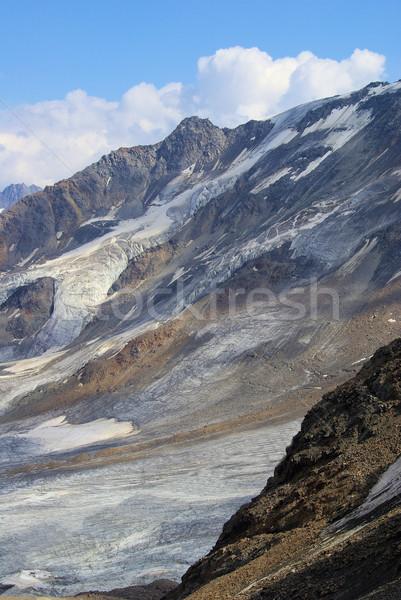 Valle ghiacciaio 10 natura montagna ghiaccio Foto d'archivio © LianeM