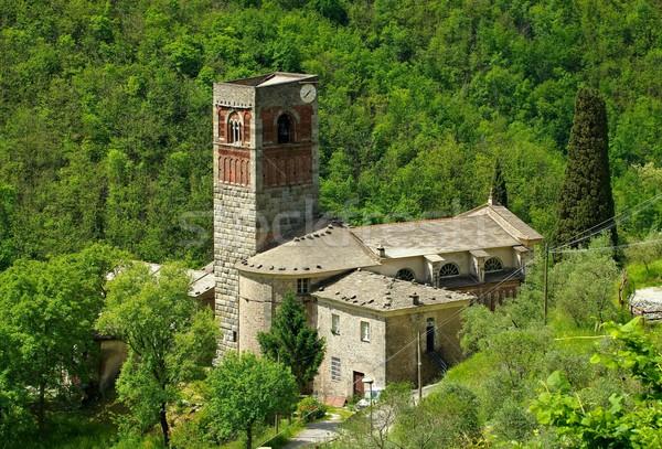 Borzone Abbazia di Sant Andrea  Stock photo © LianeM