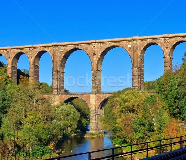 Goehren Viaduct  Stock photo © LianeM