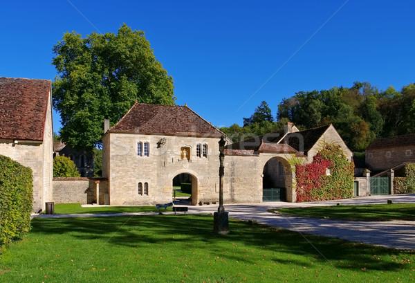 Fontenay Abbey in Burgundy Stock photo © LianeM