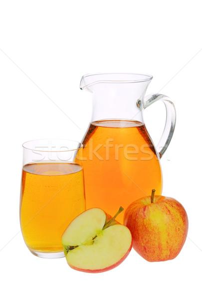 リンゴジュース ワイン 背景 ドリンク 赤 熱帯 ストックフォト © LianeM