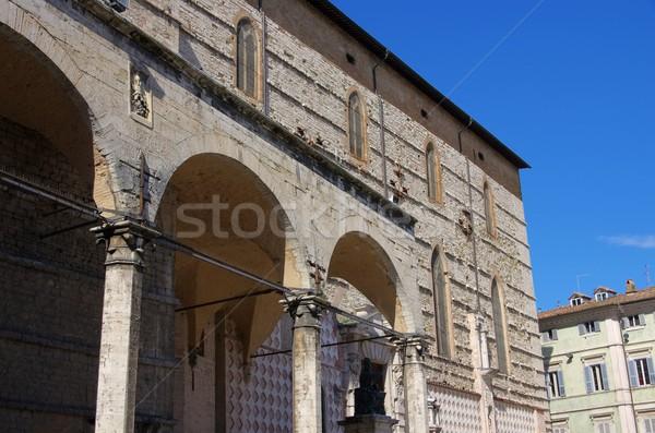 Perugia cathedral  Stock photo © LianeM