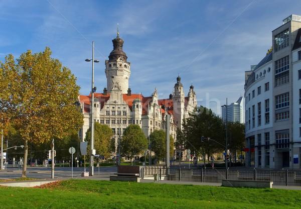 Leipzig New Townhall  Stock photo © LianeM