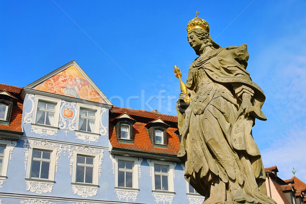 Bamberg empress Kunigunde statue 05 Stock photo © LianeM