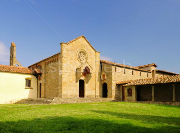 Fiesole Convento di San Francesco 02 Stock photo © LianeM