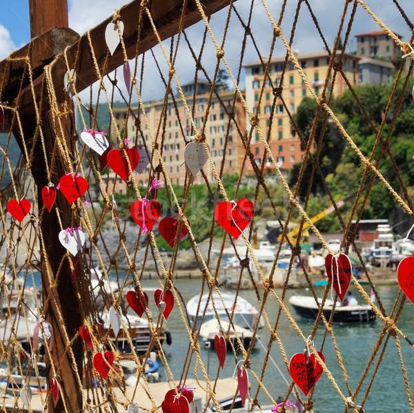 Stock photo: Camogli fishing net