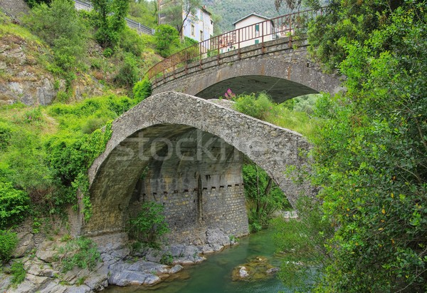 Airole Bridge  Stock photo © LianeM