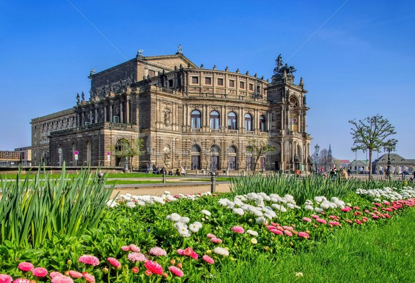 Dresden Semperoper  Stock photo © LianeM