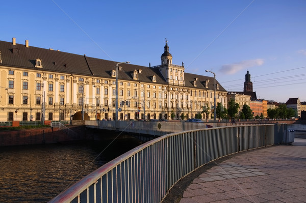 Breslau, the university Stock photo © LianeM