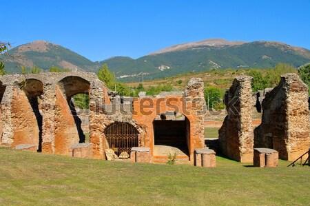 Amiternum amphitheatre 05 Stock photo © LianeM