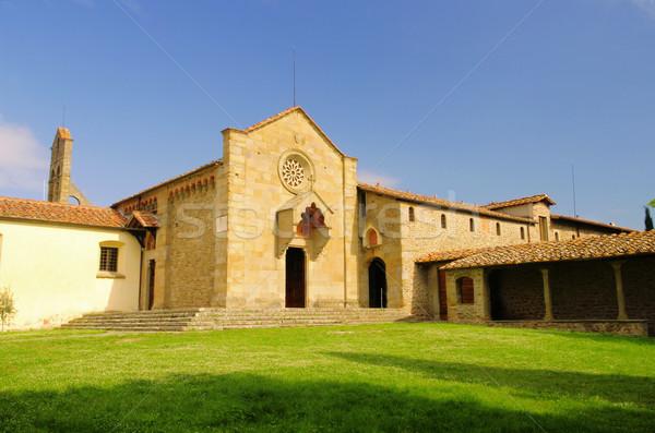 Fiesole Convento di San Francesco 01 Stock photo © LianeM