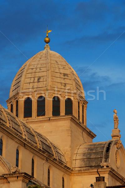 Sibenik Cathedral 17 Stock photo © LianeM
