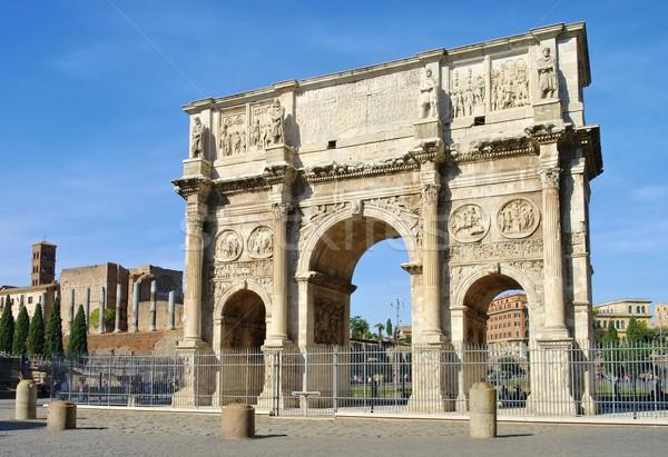 Roma arch costruzione viaggio architettura Europa Foto d'archivio © LianeM