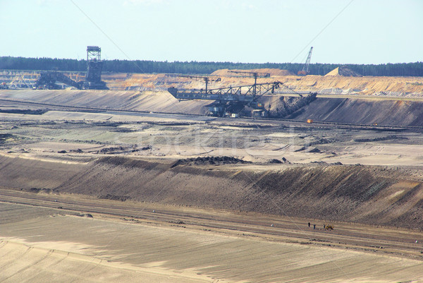 open pit Welzow 07 Stock photo © LianeM