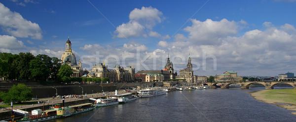 Dresden old town 10 Stock photo © LianeM