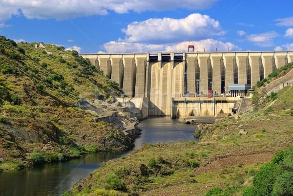 hydropower plant  Stock photo © LianeM