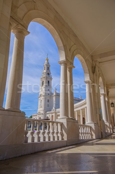 Sanctuary of Fatima in Portugal Stock photo © LianeM
