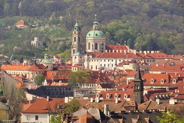 Prague St. Nicholas Cathedral 02 Stock photo © LianeM