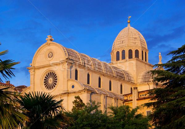 Sibenik Cathedral 14 Stock photo © LianeM