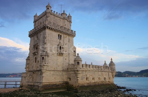 Lisbon Torre de Belem 03 Stock photo © LianeM