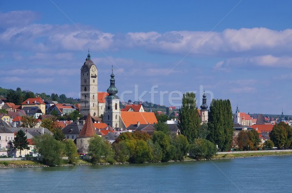 Krems and Stein on Danube  Stock photo © LianeM