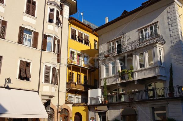 Bolzano, Piazza del grano Stock photo © LianeM