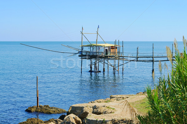 Agua casa verano océano viaje pesca Foto stock © LianeM
