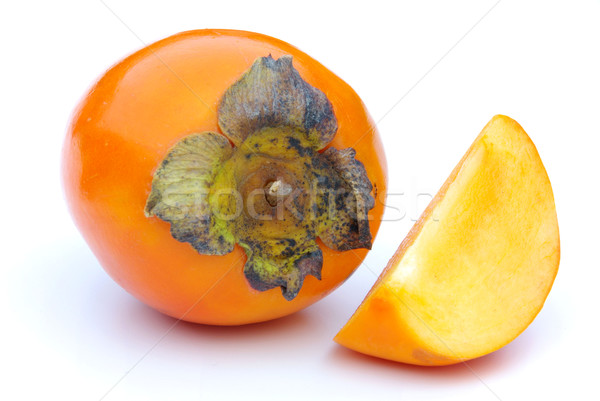 Japanese Persimmon 19 Stock photo © LianeM