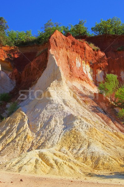 Rustel ocre rocks 44 Stock photo © LianeM