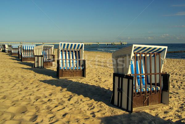 beach chair 06 Stock photo © LianeM
