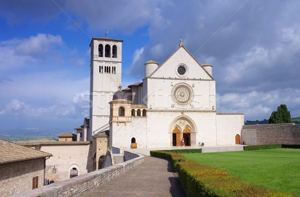 Assisi church 03 Stock photo © LianeM