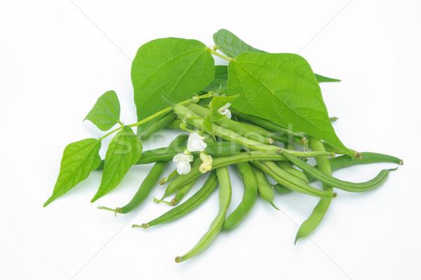Bohnen freigestellt - beans isolated 02 Stock photo © LianeM